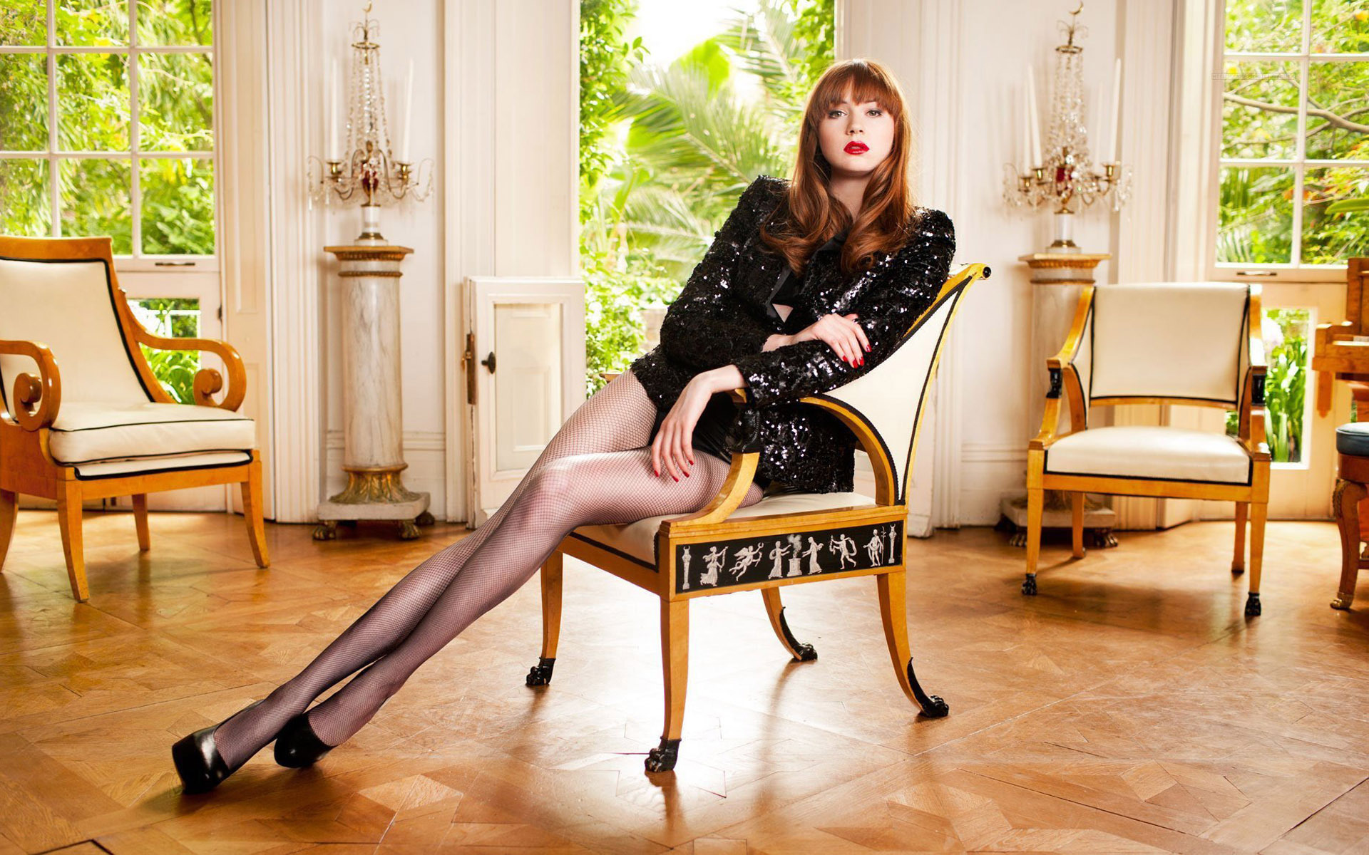 139599 karen gillan hot legs tight dr jwck   inscmagazine