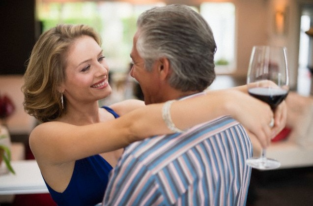 Mom dating younger man