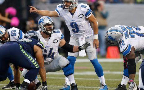 NFL Matt Stafford against the Seahawks