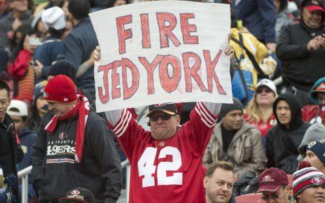 San Francisco 49ers would like to see Jed York take a step back