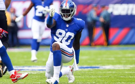 Jason Pierre-Paul is staying a Giant