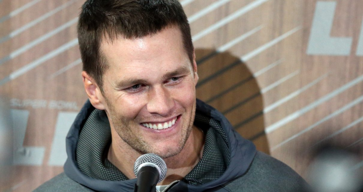 Brady answers Super Bowl questions