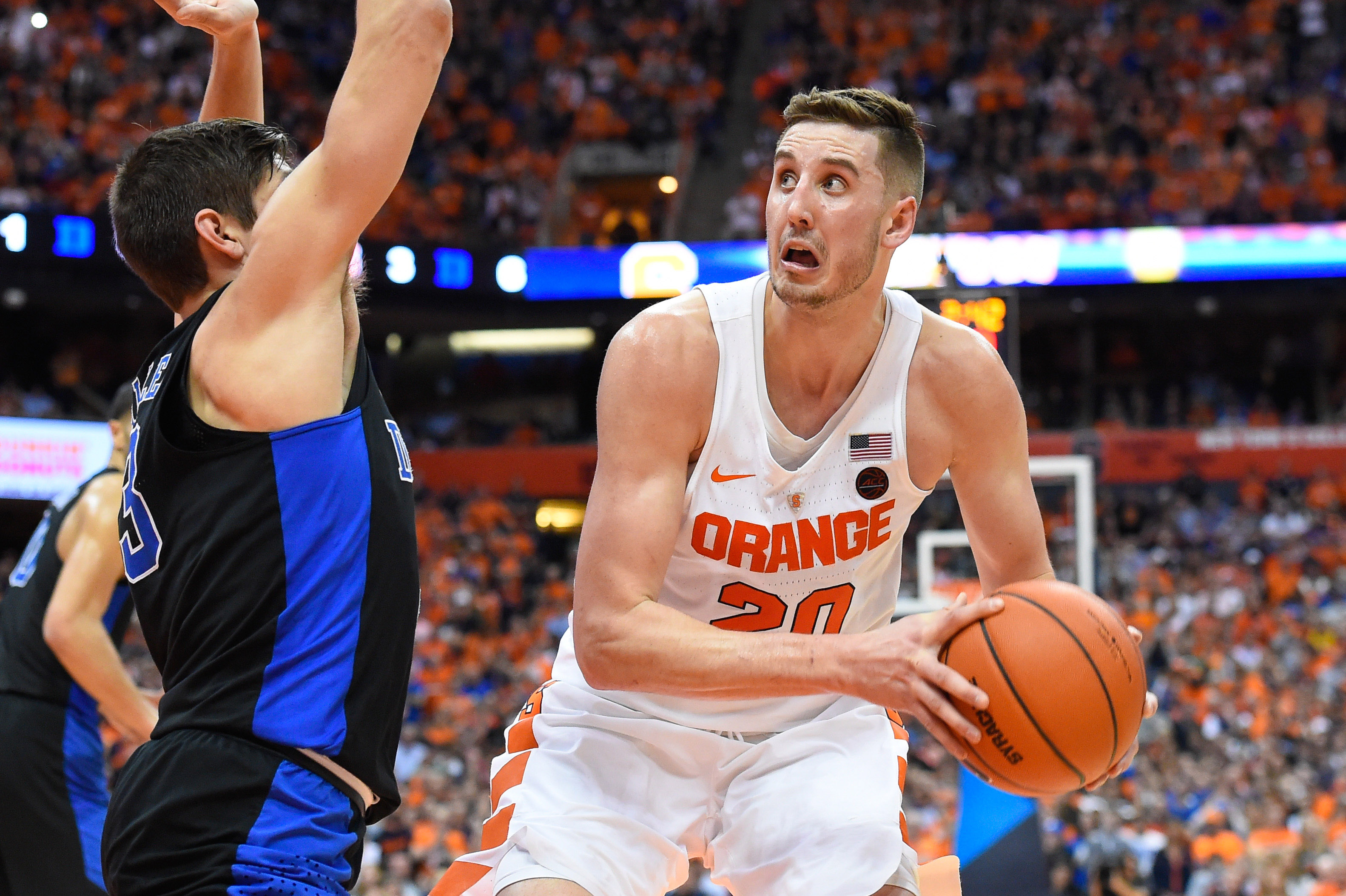 College Basketball Syracuse S Win Over Duke Does Not Punch Their