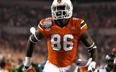 david njoku Miami Hurricanes