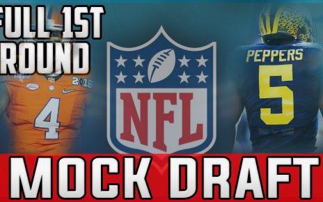 2017 First-Round Mock draft