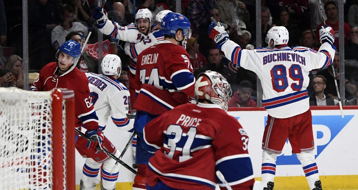 New York Rangers Stanley Cup Playoffs