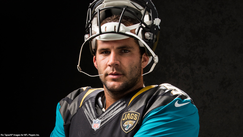 Blake Bortles rides out the 2017 Draft