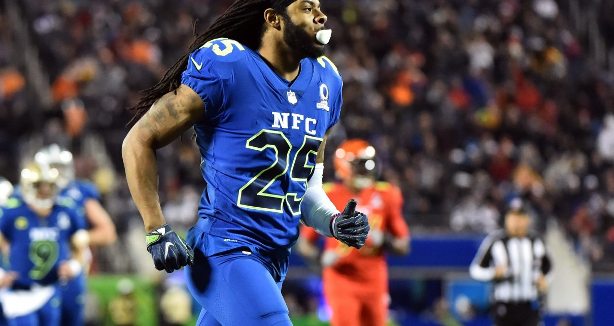 Washington Redskins met with Richard Sherman