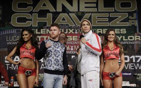 Canelo Alvarez vs Julio Cesar Chavez Jr