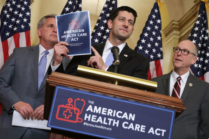 Trumpcare to take place of ObamaCare