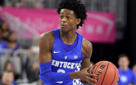 NBA Draft candidate De'Aaron Fox