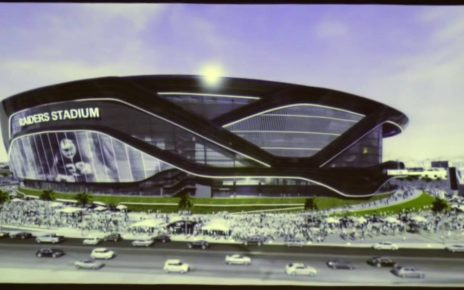 Oakland Raiders building for Las Vegas