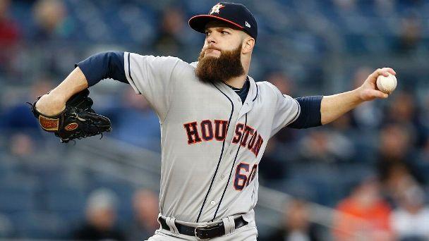 Dallas Keuchel Houston Astros pitcher