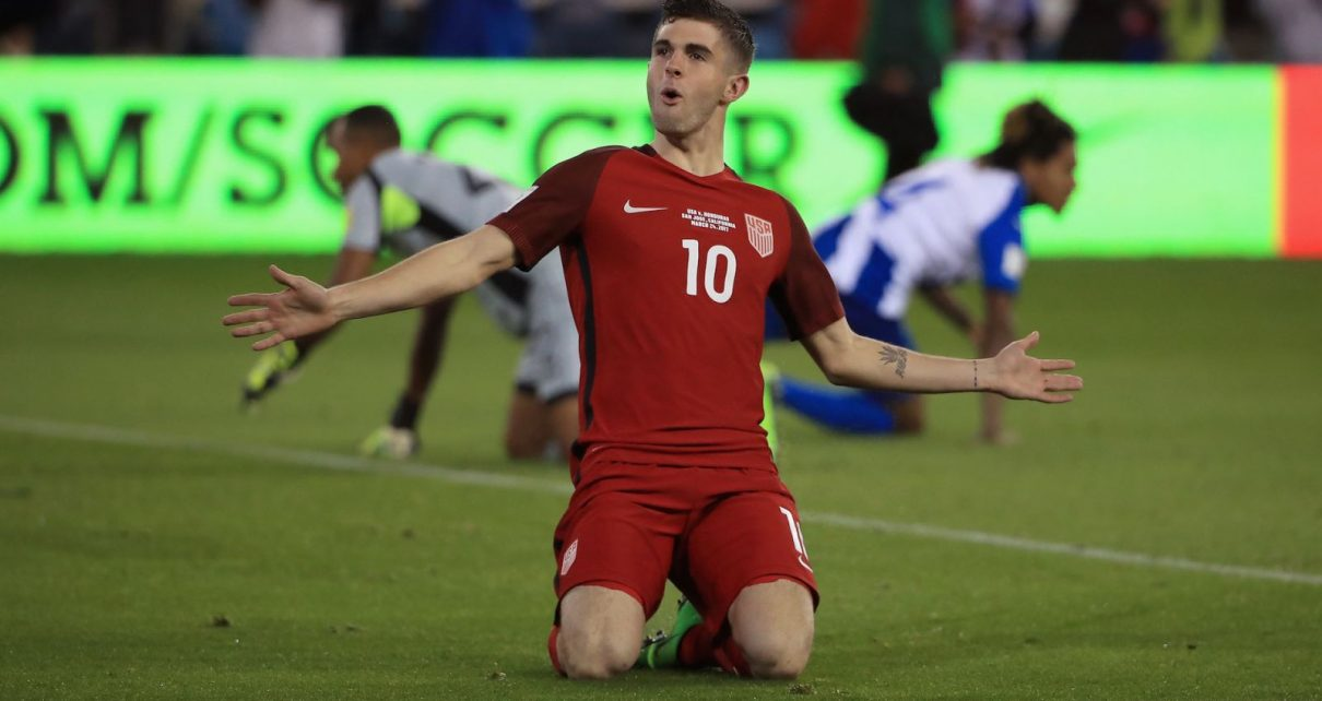 Christian Pulisic U.S. Soccer Player