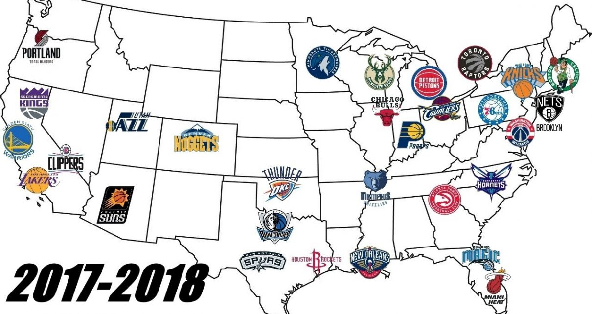 NBA Realignment: Changing the Eastern and Western Conference
