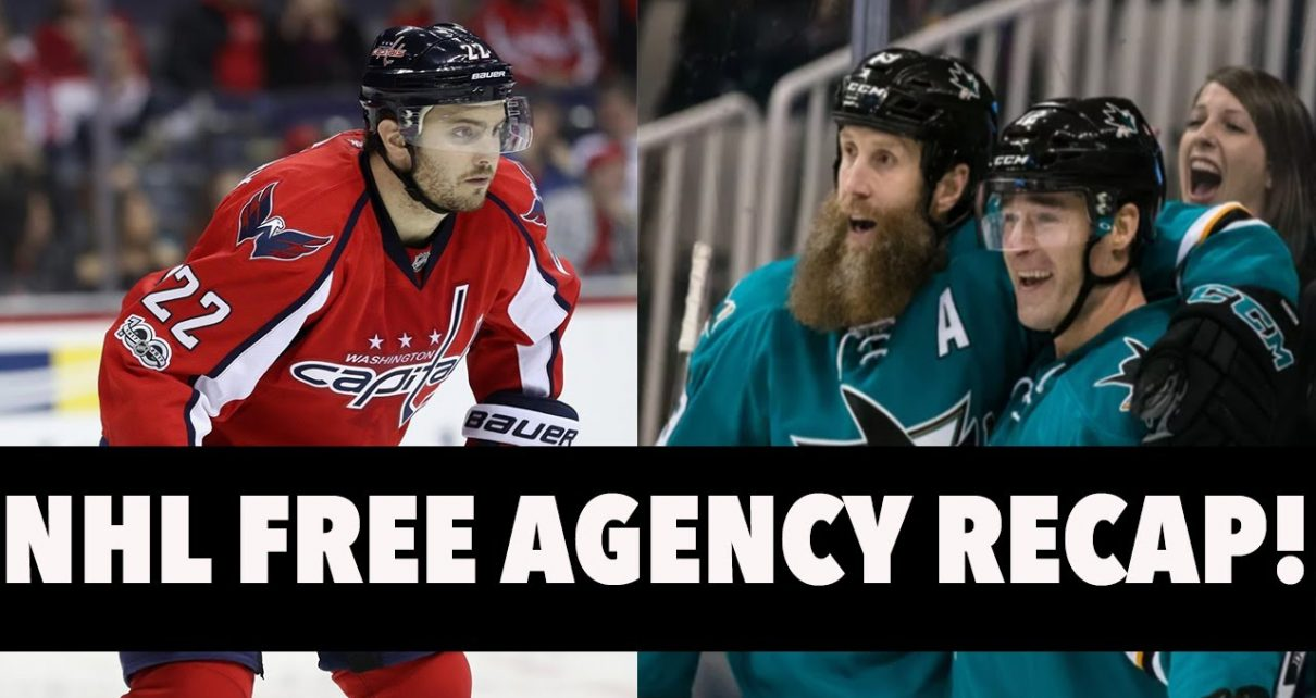 NHL Free Agency Frenzy