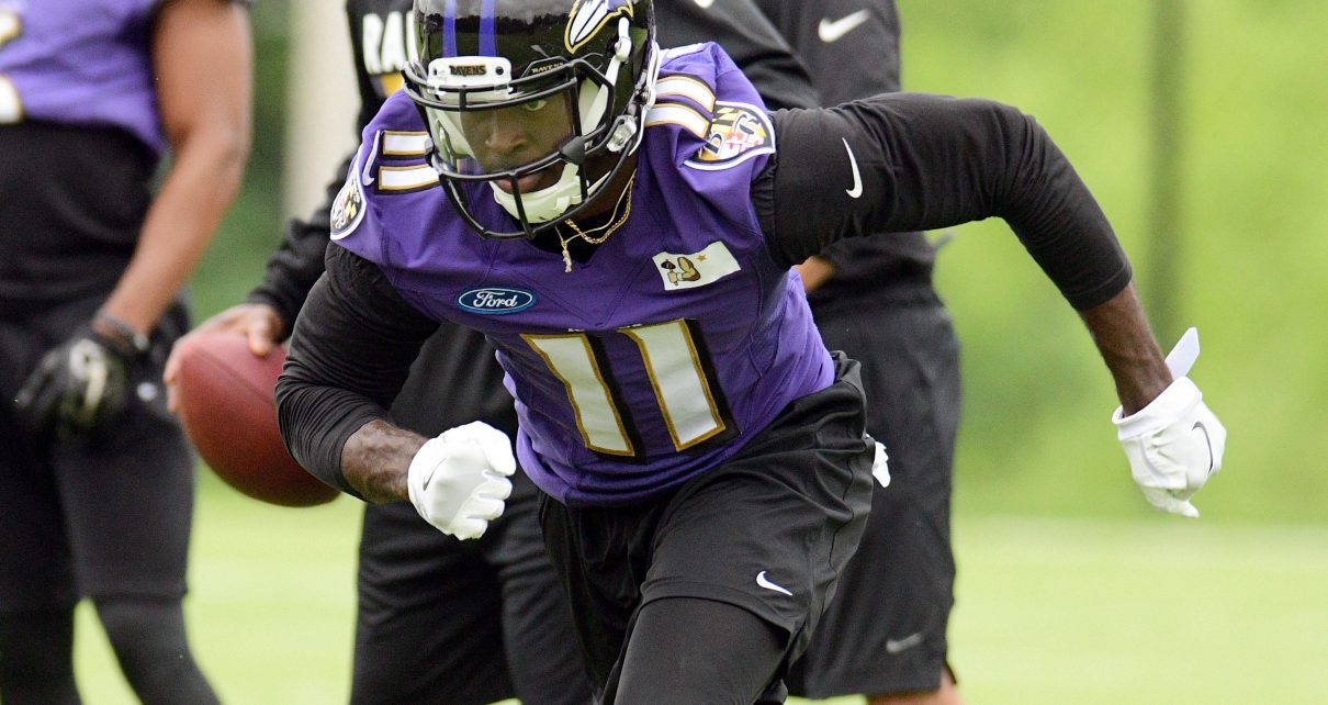 Baltimore Ravens WR Breshad Perriman