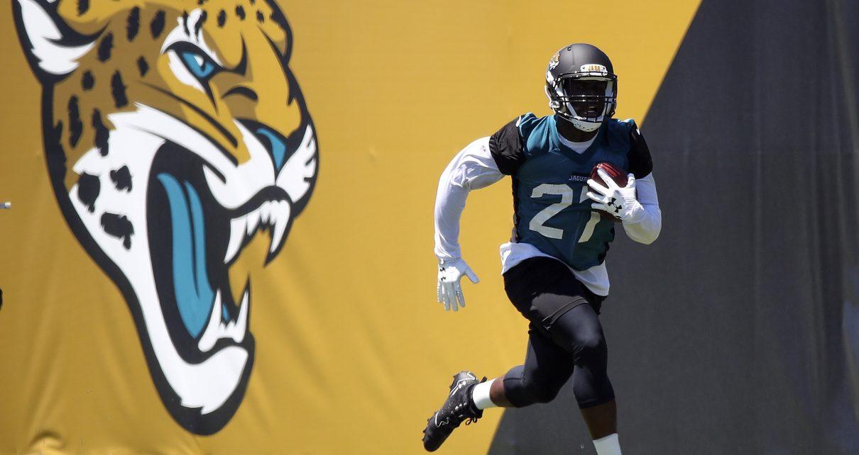Jacksonville Jaguars RB Leonard Fournette