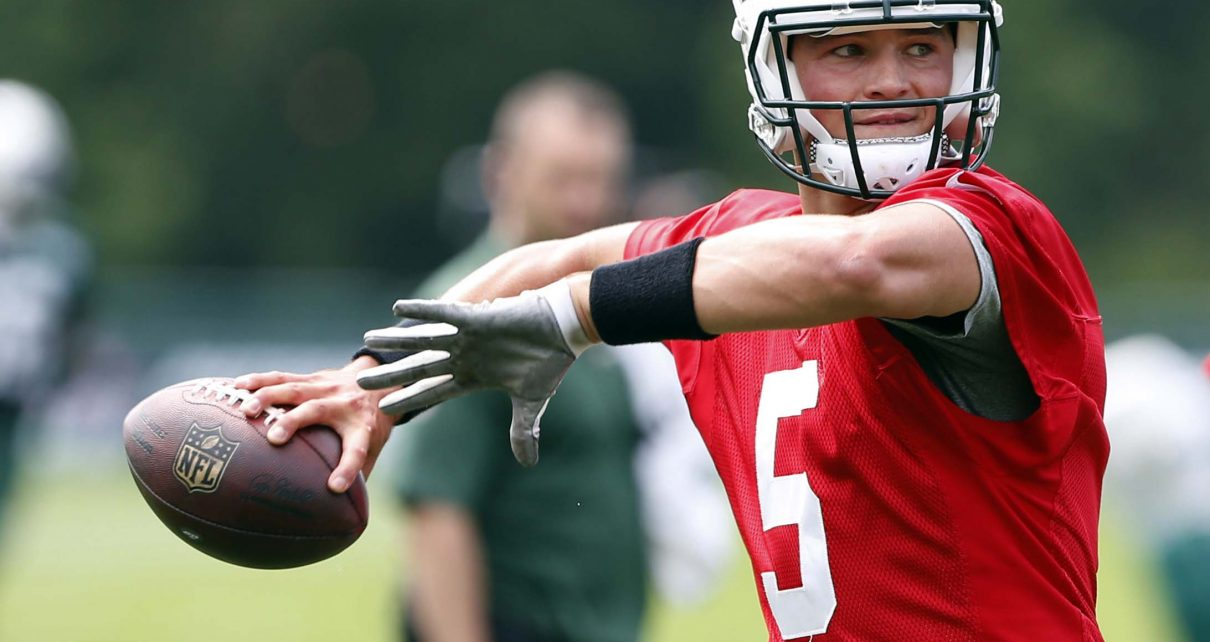 Christian Hackenberg QB New York Jets