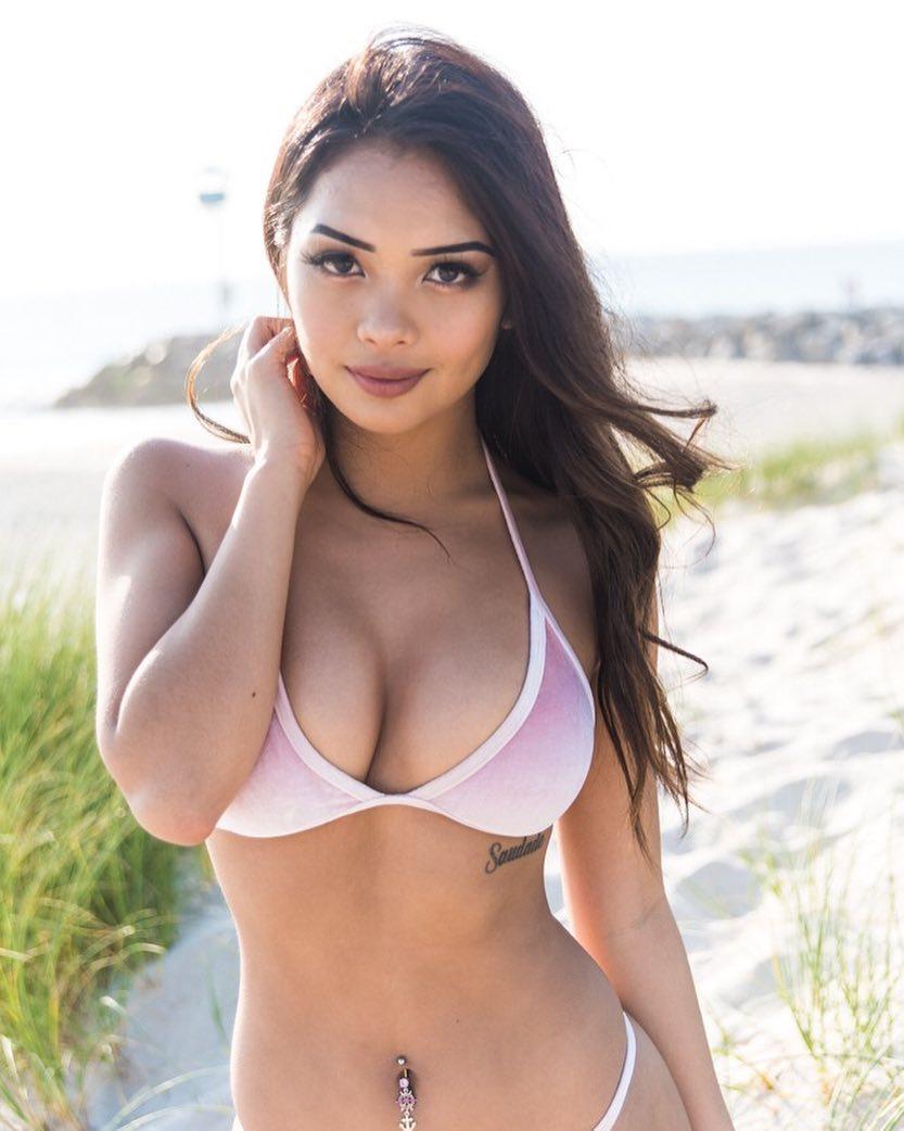 Glamour Girl! Filipina Fox! Q And A With Instagram Bikini