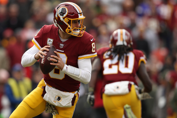 Kirk Cousins (Nov. 11, 2017 - Source: Patrick Smith/Getty Images North America)