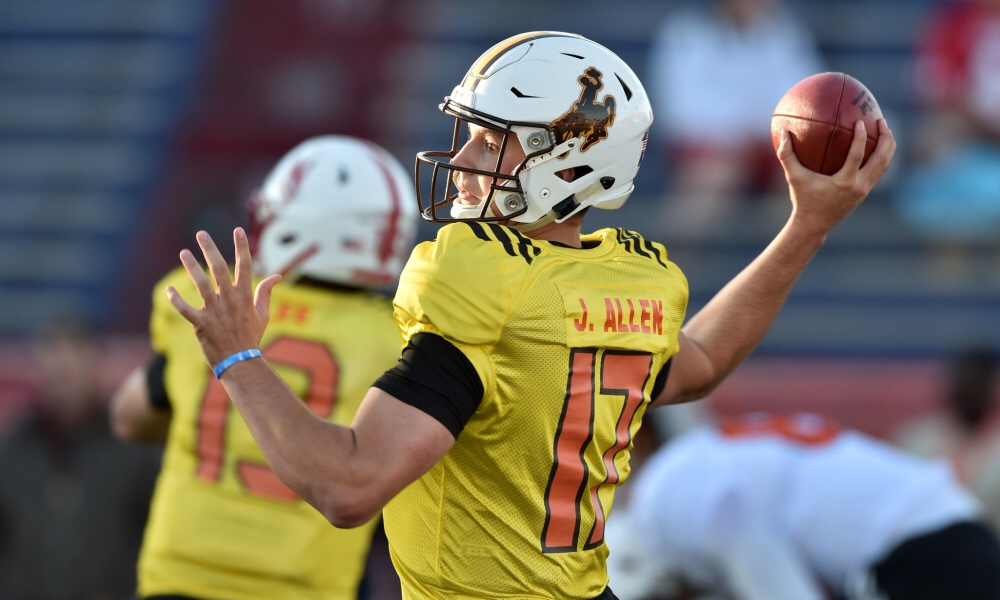 2018 Reese S Senior Bowl Is The Josh Allen Hype For Real