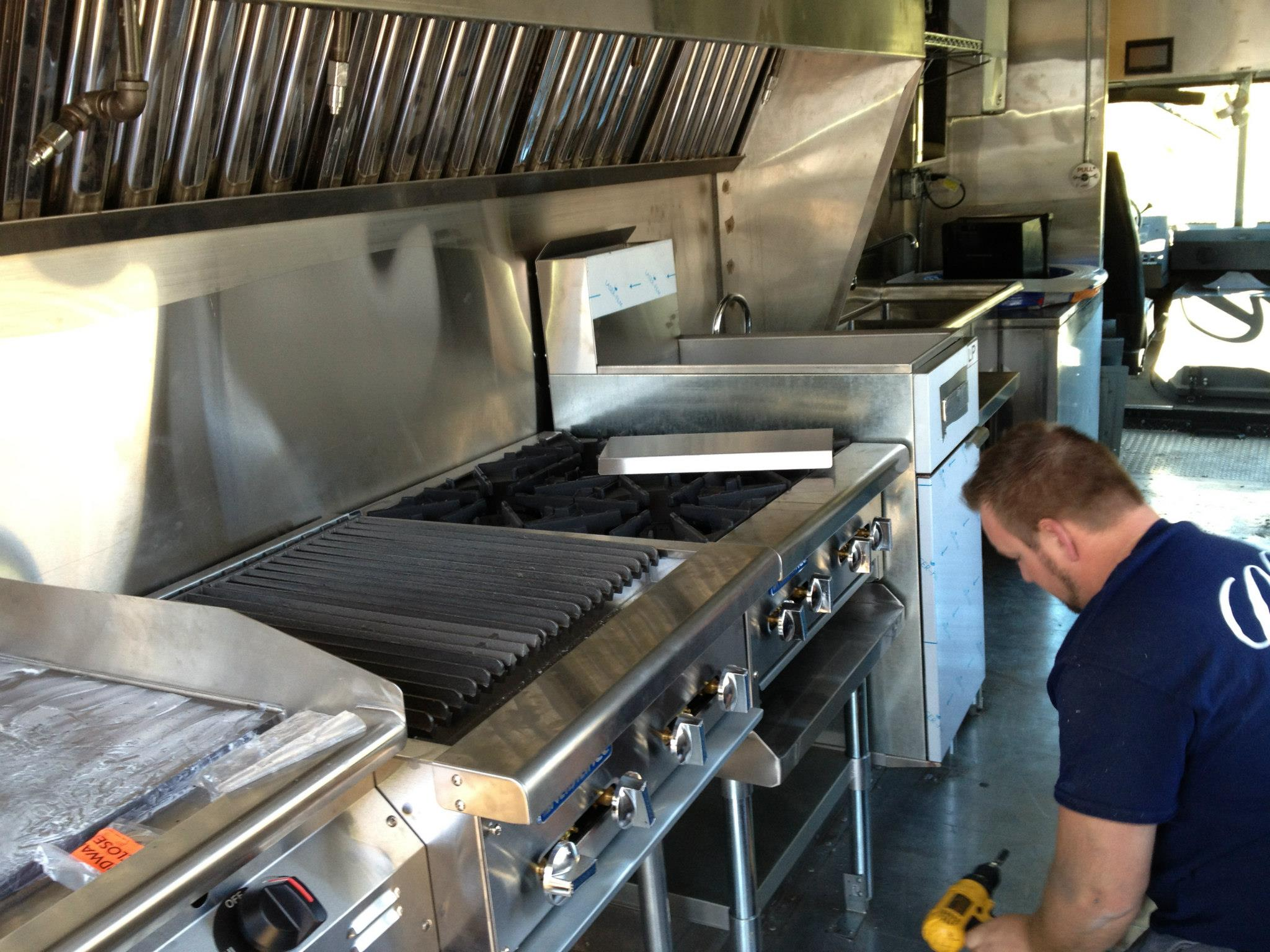 Workers On Wheels >> Culture: How To Design Your Food Truck Kitchen? - INSCMagazine