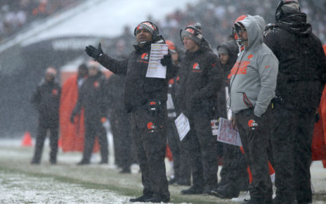 Hue Jackson (Dec. 24, 2017 - Source: Dylan Buell/Getty Images North America)