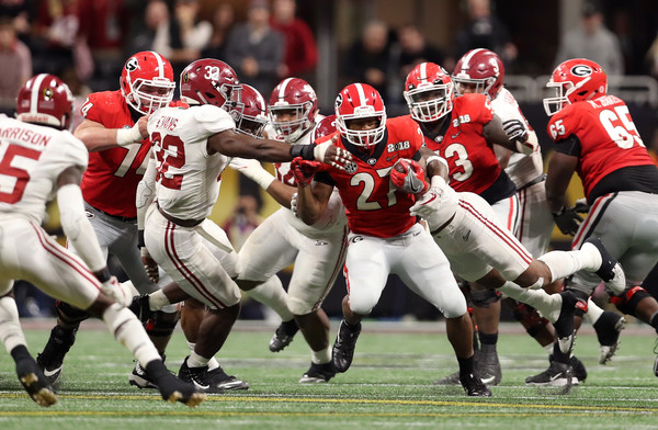 Nick Chubb (Jan. 8, 2018 - Source: Christian Petersen/Getty Images North America)