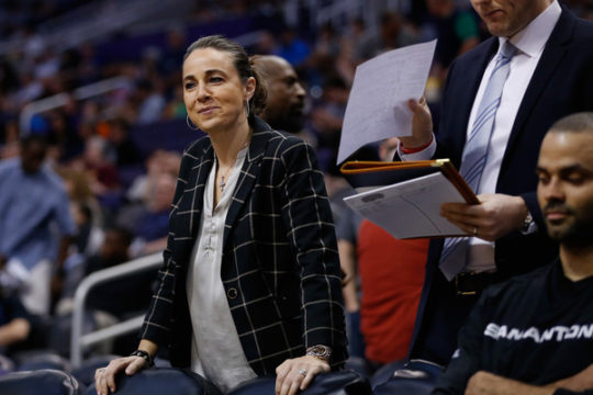 Becky Hammon (Feb. 21, 2016 - Source: Christian Petersen/Getty Images North America)