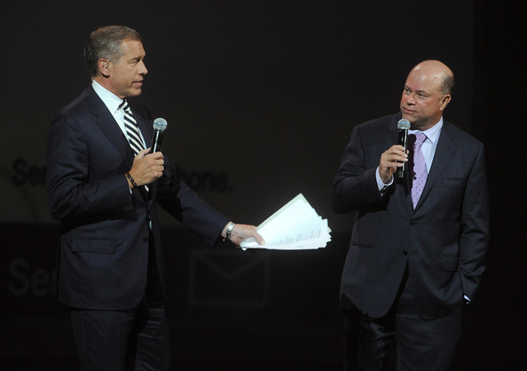 David Tepper with NBC's Brian Williams (May 12, 2014 - Source: Brad Barket/Getty Images North America)