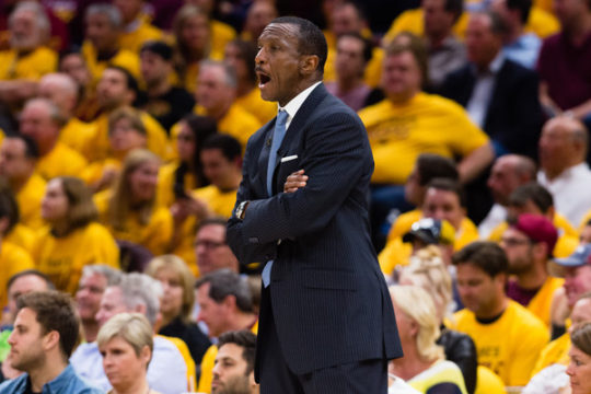 Dwane Casey (May 7, 2018 - Source: Jason Miller/Getty Images North America)