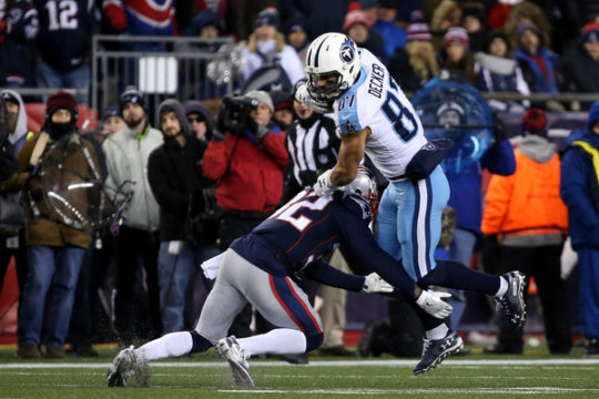 Eric Decker (Jan. 13, 2018 - Source: Adam Glanzman/Getty Images North America)