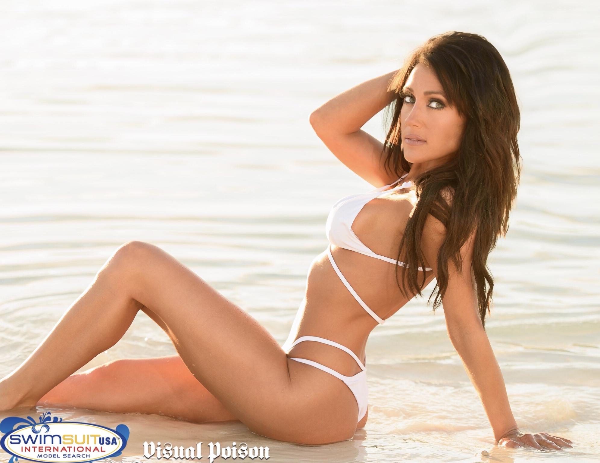 Bikini girl glamour life