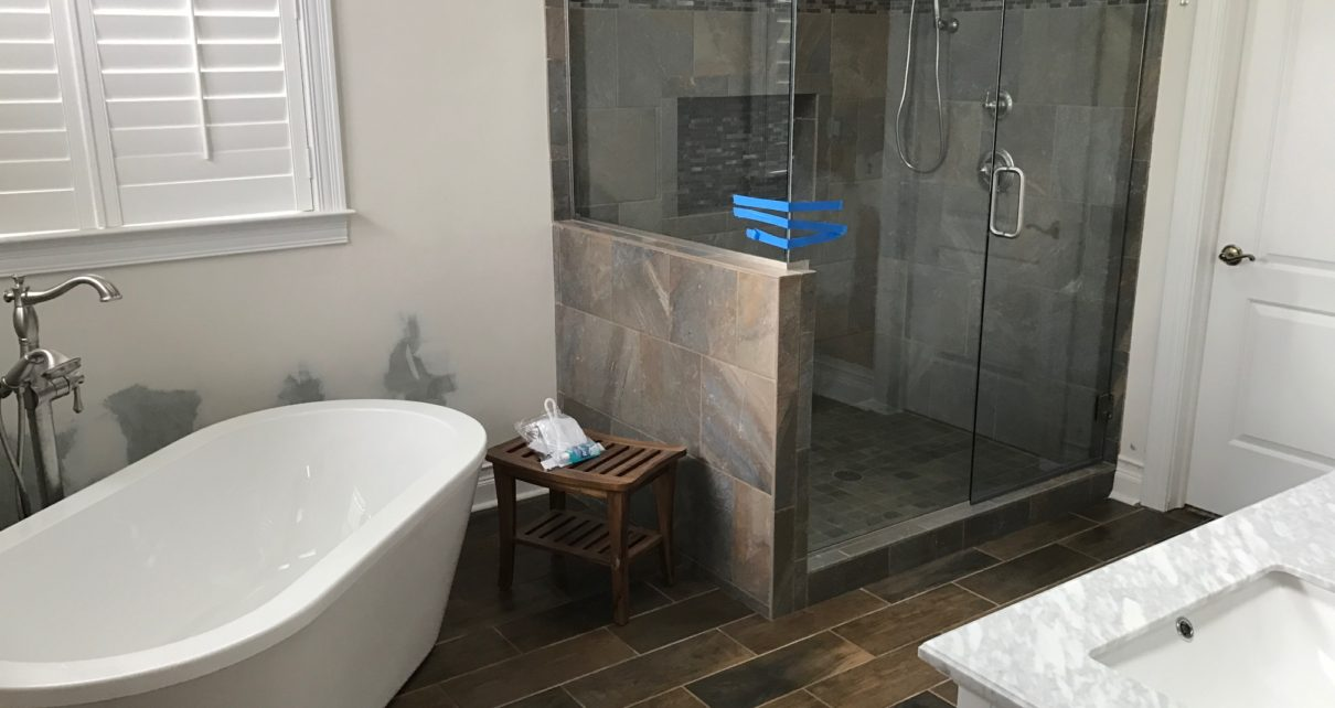 Home d cor how to save money on your bathroom remodel for Money bathroom decor