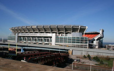 First Energy Stadium , formerly known as Cleveland Browns Stadium (November 11, 2015 Erik Holmberg)