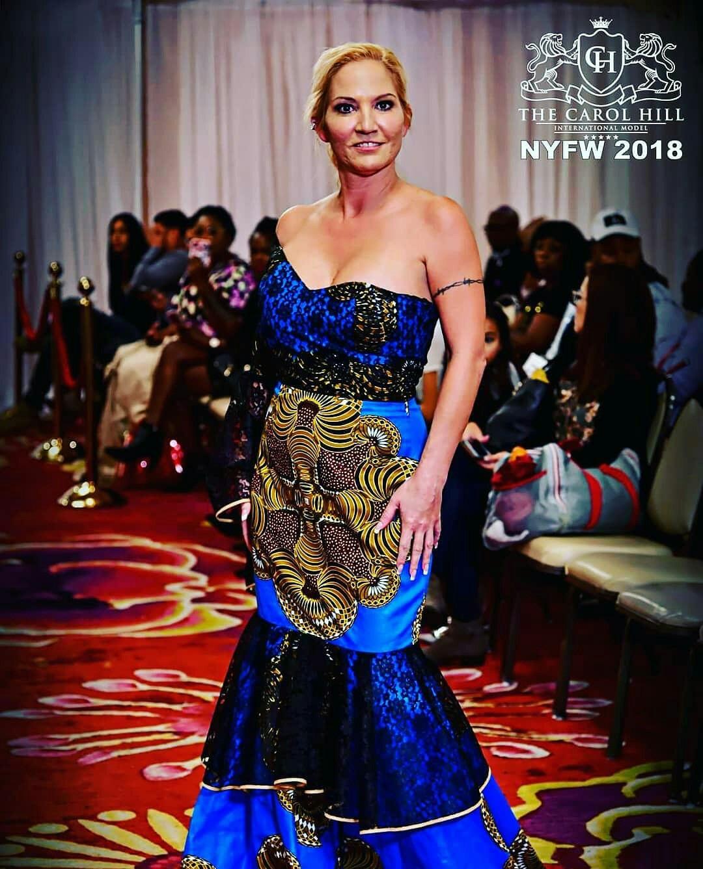 Badass Babe Internationally Published Model Carol Hill