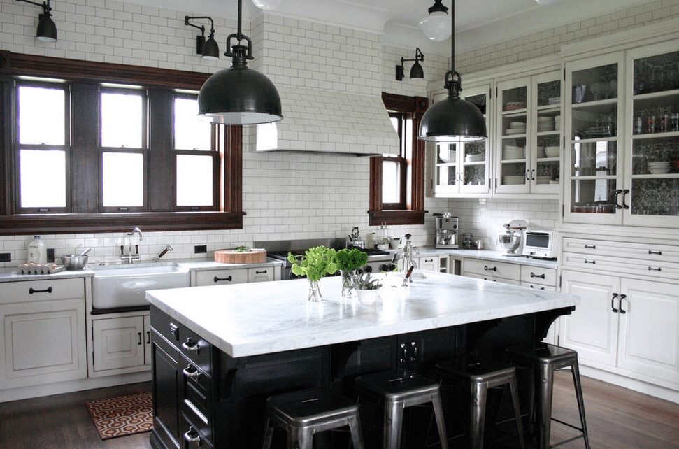 Don\'t Just Settle for All-White: 5 Kitchen Island Colors for ...