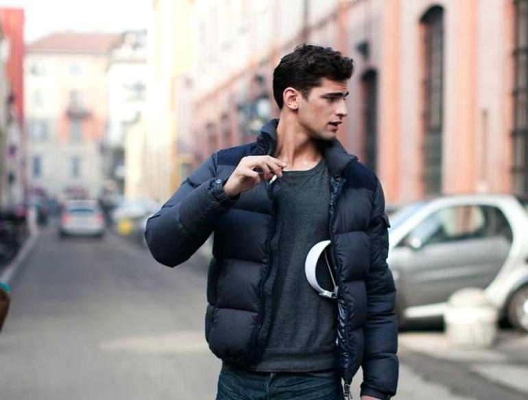 many styles later sale online puffer-coat-mens-puffer-padded-jacket-winter-style-puffer-coat ...
