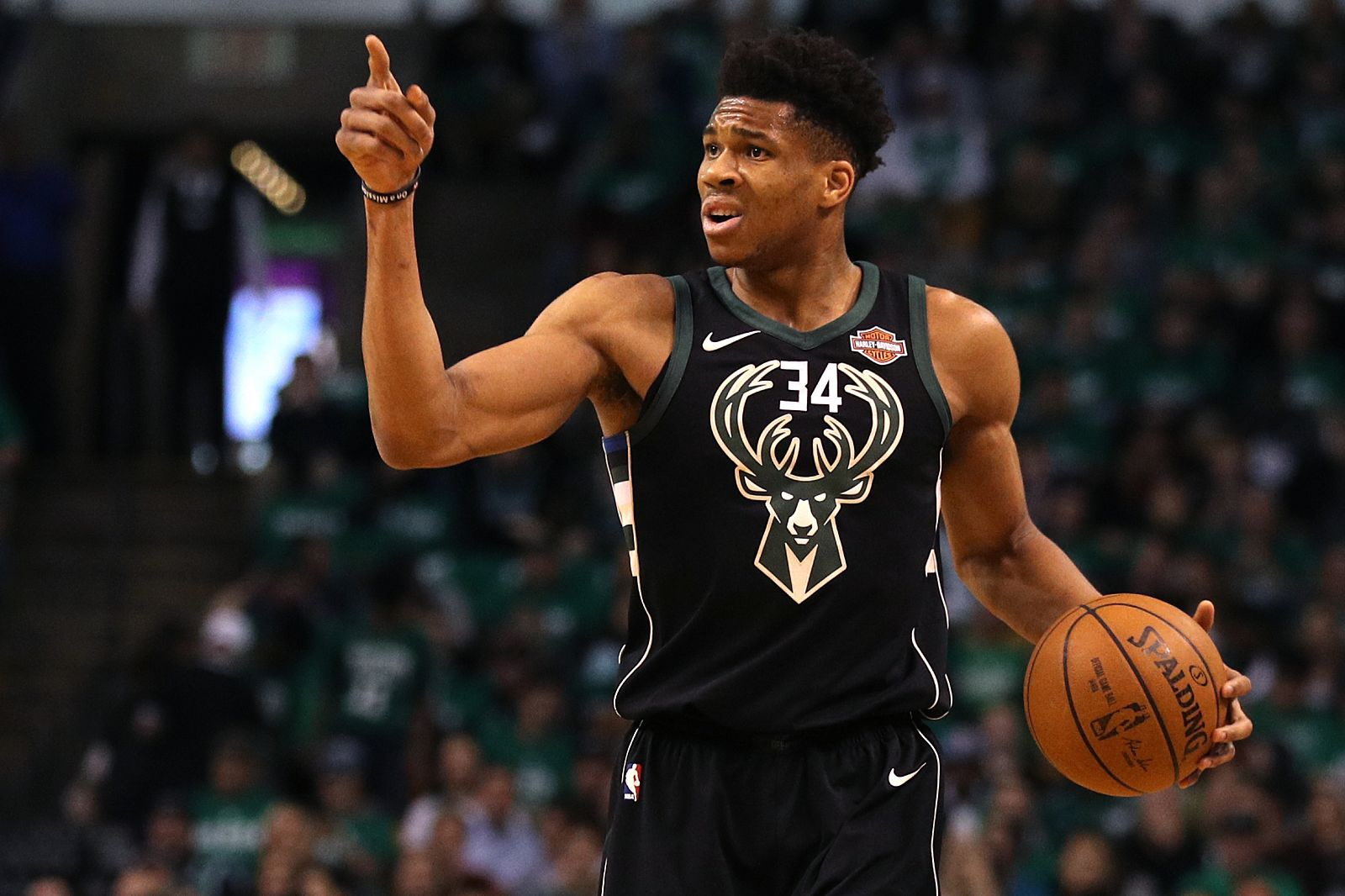 Giannis Antetokounmpo wins MVP at the 2019 NBA Awards