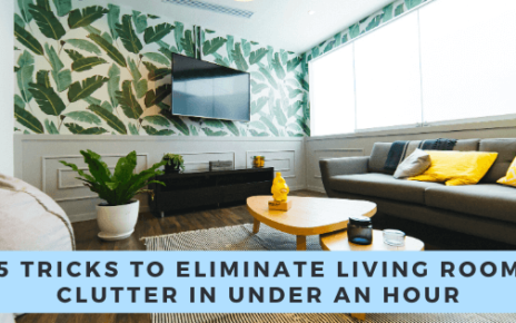 Expert Tricks to Eliminate Living Room Clutter Today