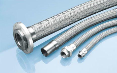 Flexible metal air hose