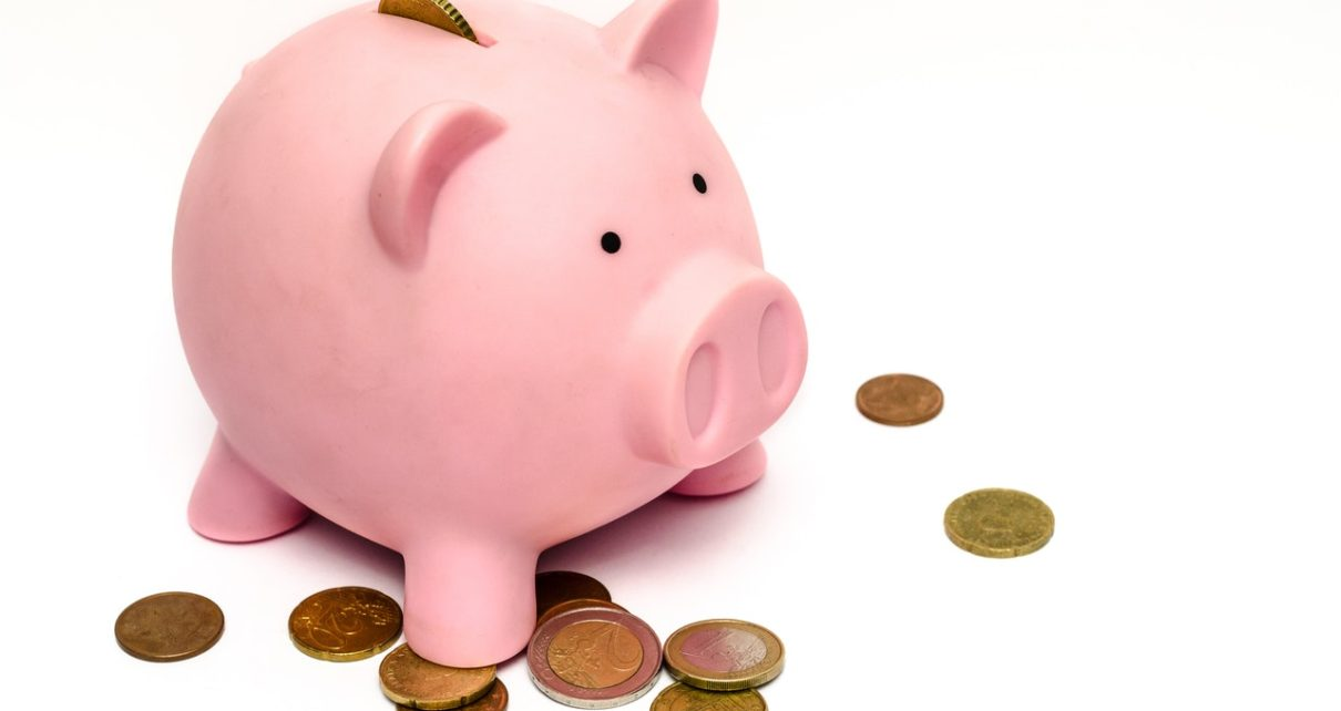 saving pig money