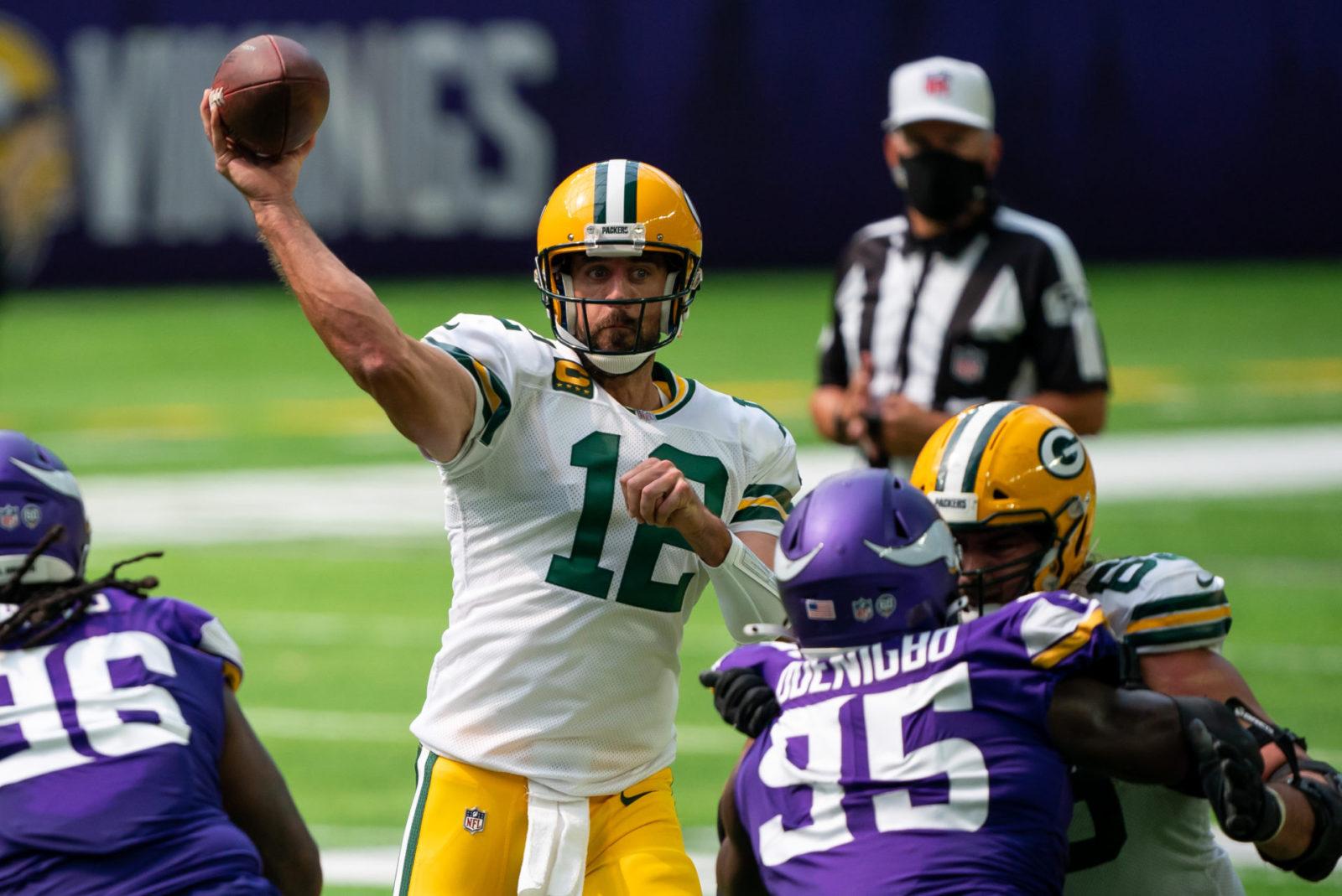 Green Bay Packers Aaron Rodgers Is Still A Baaaddd Man